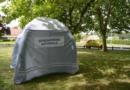 Tente barnum pour la Gendarmerie Nationale gonflée à l'air