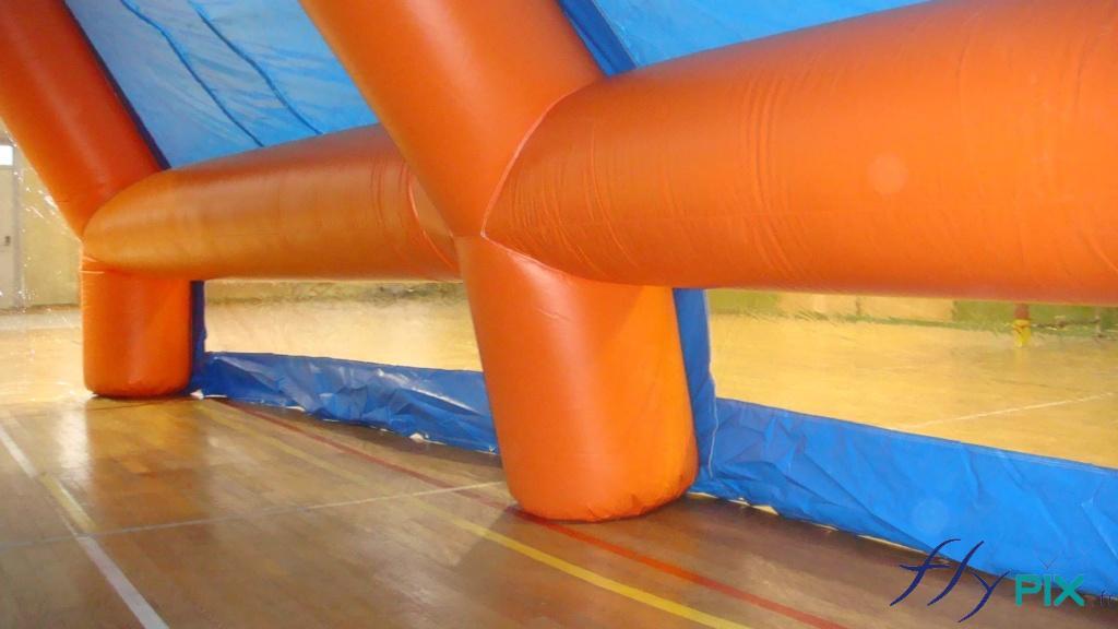 Boudins d'ossatures de tente PMA gonflable, D = 0.90 m.