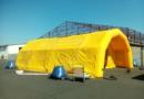 Tentes PMA gonflables: soins, désinfections ou confinements