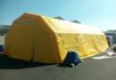 Tente PMA L = 5 ; l =  10 m, 50 m2, air captif étanche