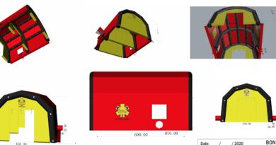 Une nouvelle tente poste médical avancé pour la Belgique