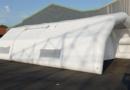 Fabrication d'une tente PMA gonflable pour la Protection Civile du Niger (Armée Française)